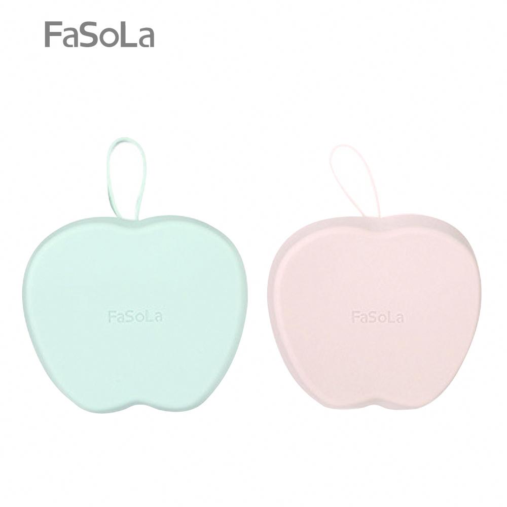 FaSoLa 食品級鉑金矽膠製冰格 蘋果 橄欖綠