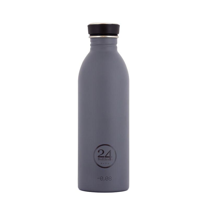 義大利 24Bottles 城市水瓶 500ml - 典雅灰