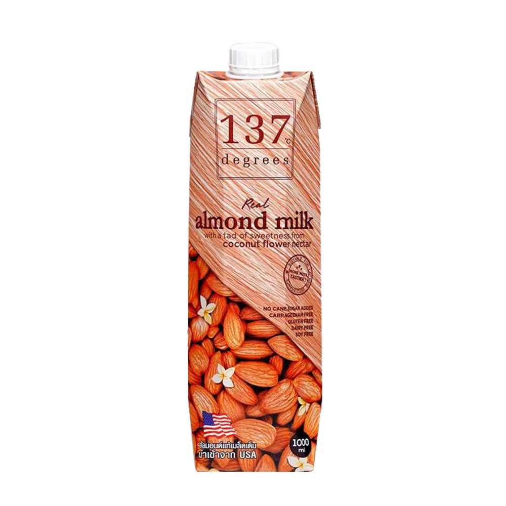 【137degrees】杏仁飲x6瓶(1000ml/瓶)