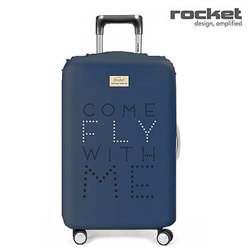 【義大利 Rocket】防水行李箱套 Come Fly