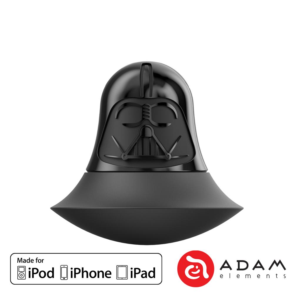 ADAM 星際大戰黑武士 iOS/microSD 雙介面讀卡機 (不含記憶卡)