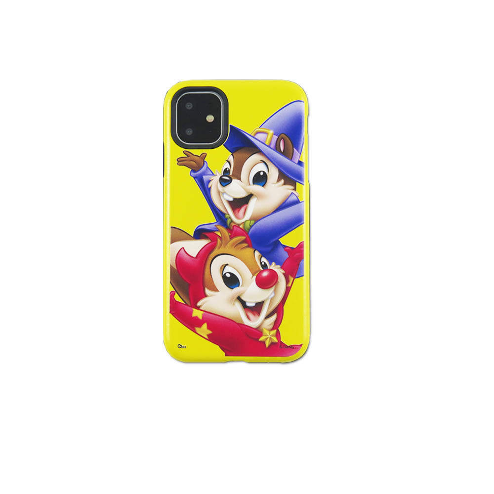 Disney迪士尼iPhone11Pro系列磨砂雙料殼_奇奇蒂蒂