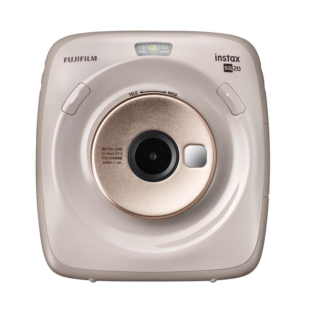FUJIFILM instax SQUARE SQ20 方形拍立得相機(公司貨)/米色