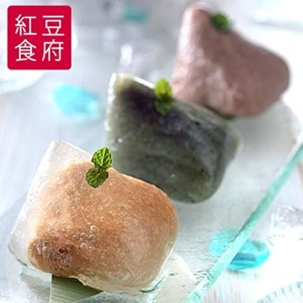 預購《紅豆食府SH》冰粽禮盒(水晶花生*3+艾草紅豆*3+紅米芋頭*3)