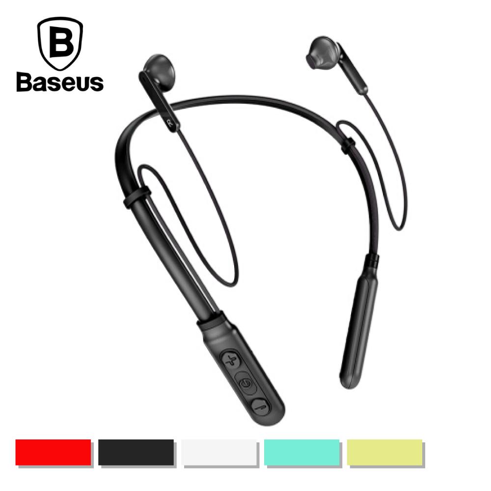 Baseus 倍思 S16 Encok頸掛式藍牙耳機 - 青色