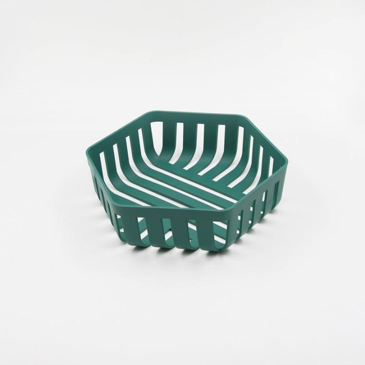OMMO Korg 六邊型置物籃/綠