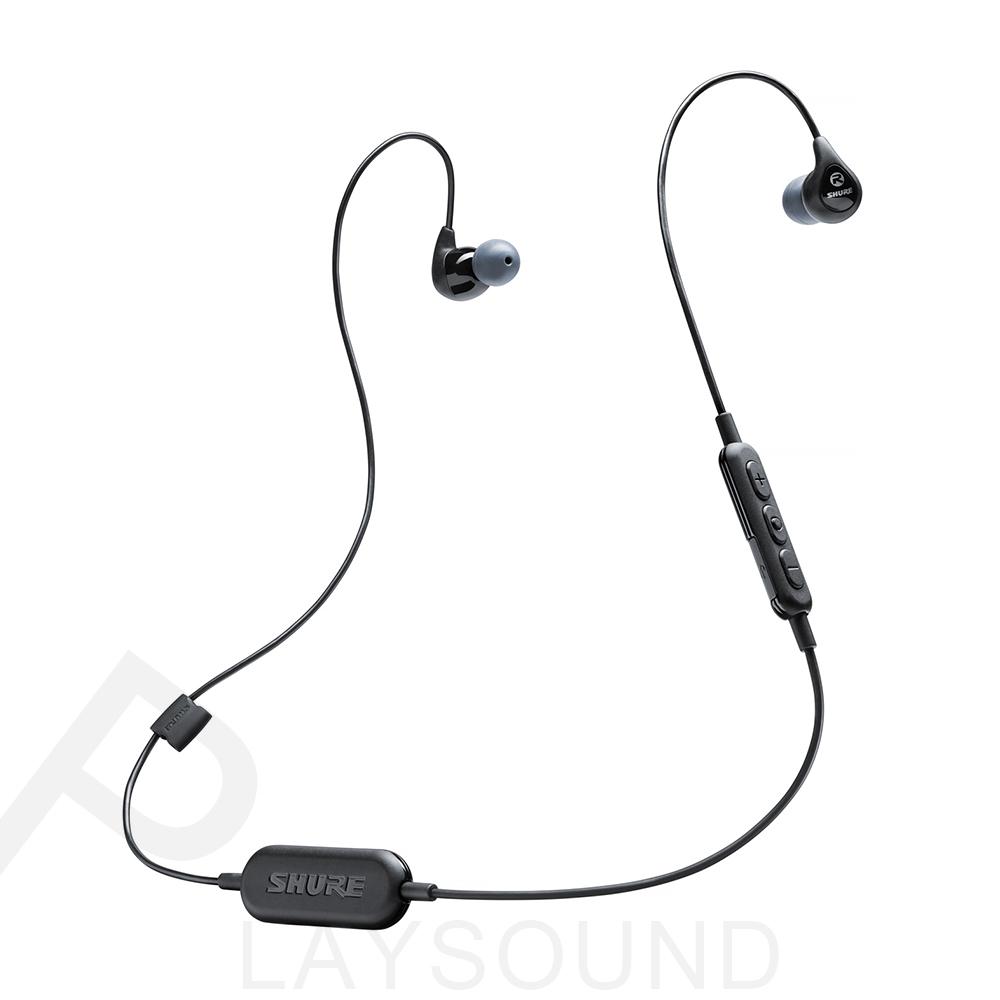 SHURE SE112 Wireless黑色 耳道式 藍牙耳機 SE112 BT1
