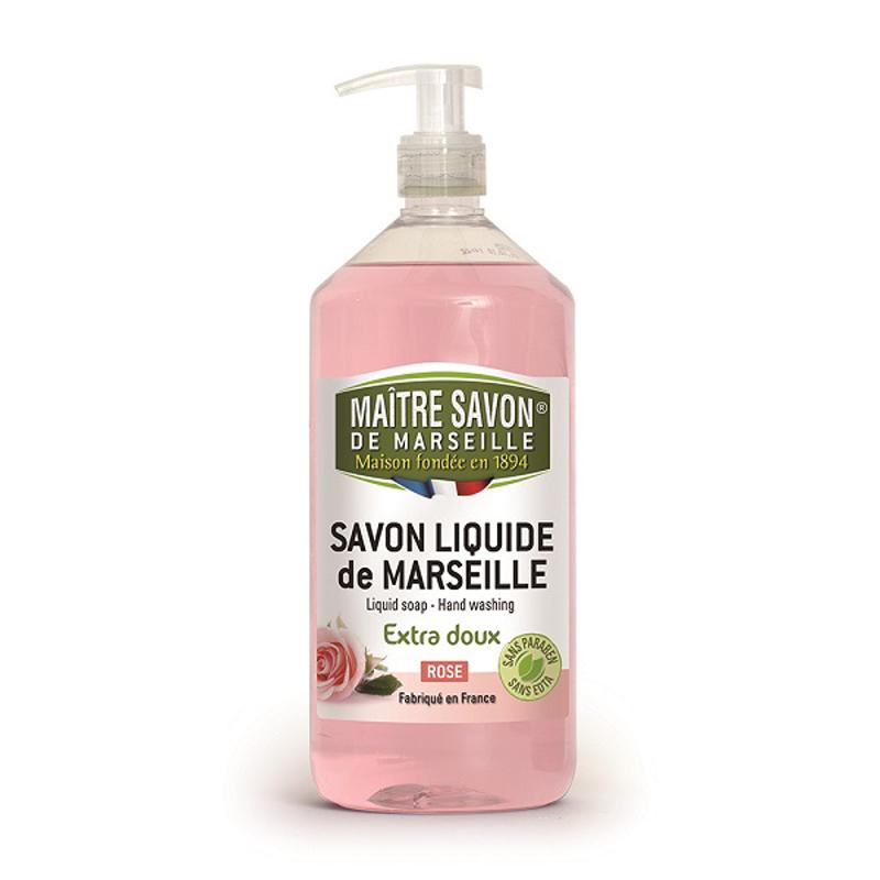 法國玫翠思馬賽液體皂(玫瑰)1000ML-2入