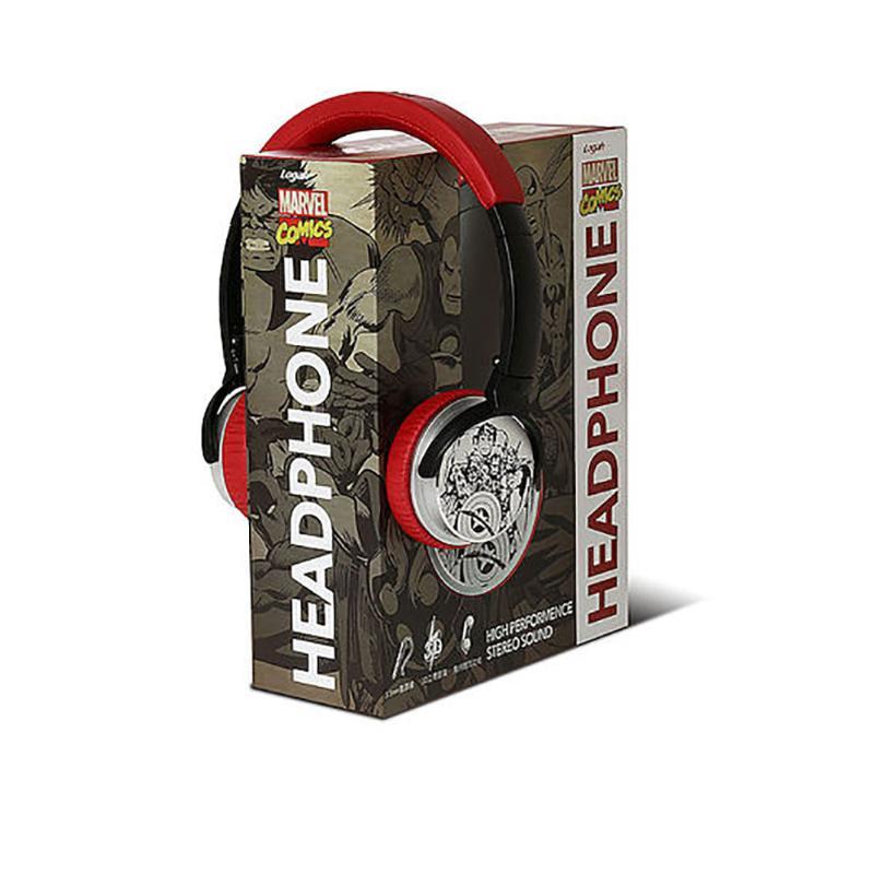 【瘋狂下殺】漫威耳罩式耳機 HS-001HS-001