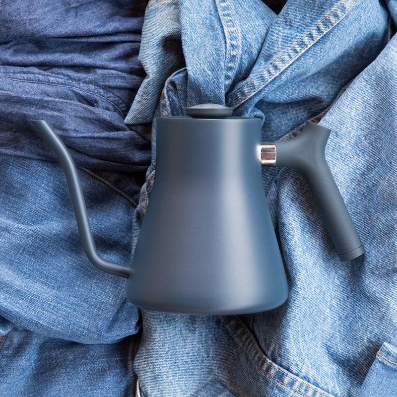 【FELLOW】STAGG 不鏽鋼測溫細口手沖壺V1.2-牛仔藍