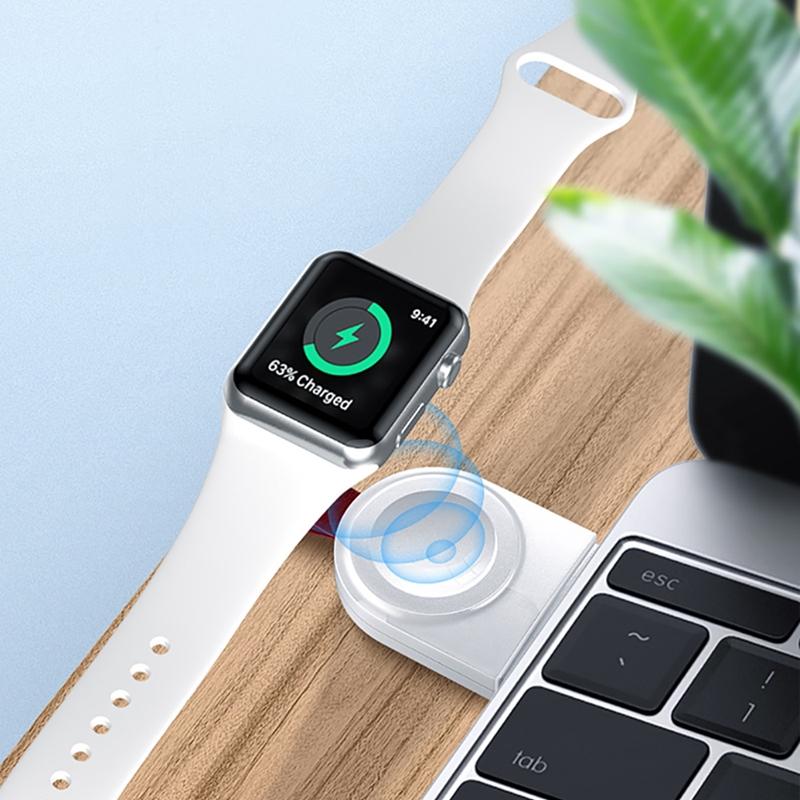 【TOTU】耀系列 USB款i Watch手錶磁力充電器 CACW-038,兼容 Apple Watch 1/2/3/4