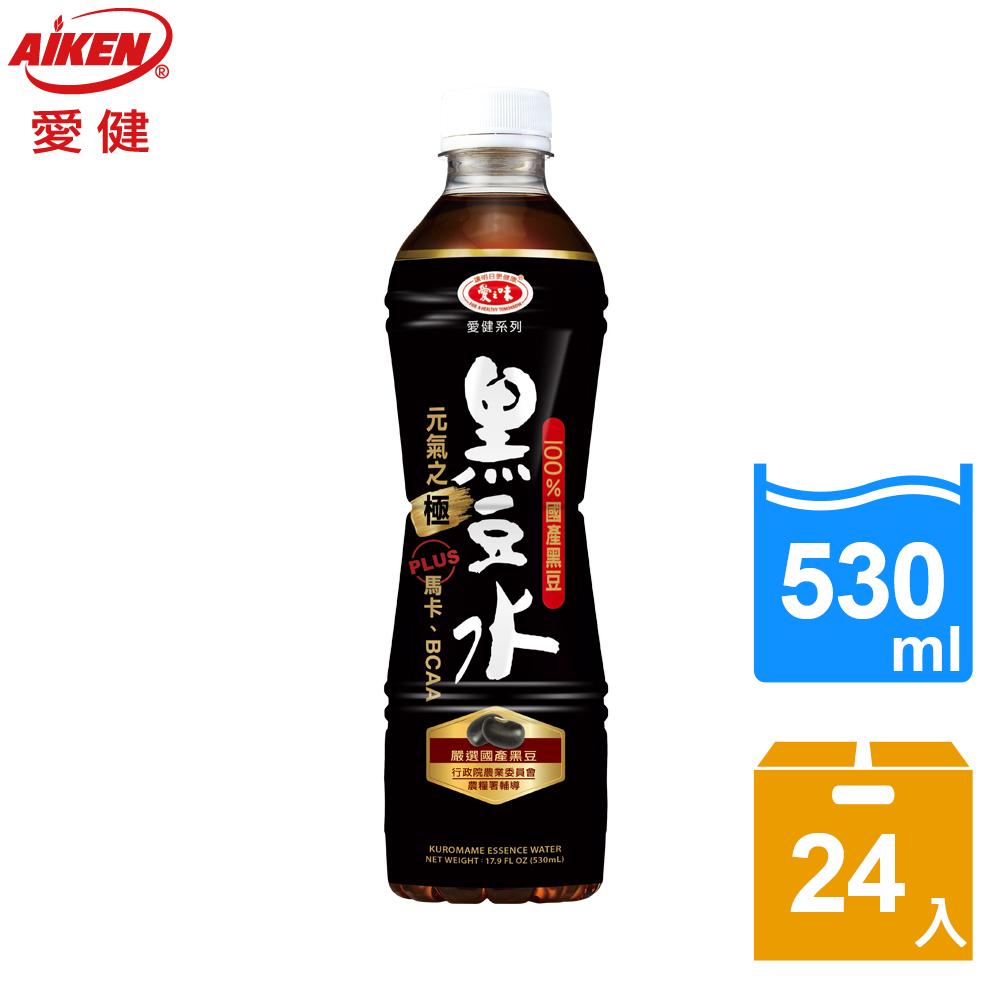 【愛健】黑豆水530ml(24入/箱)