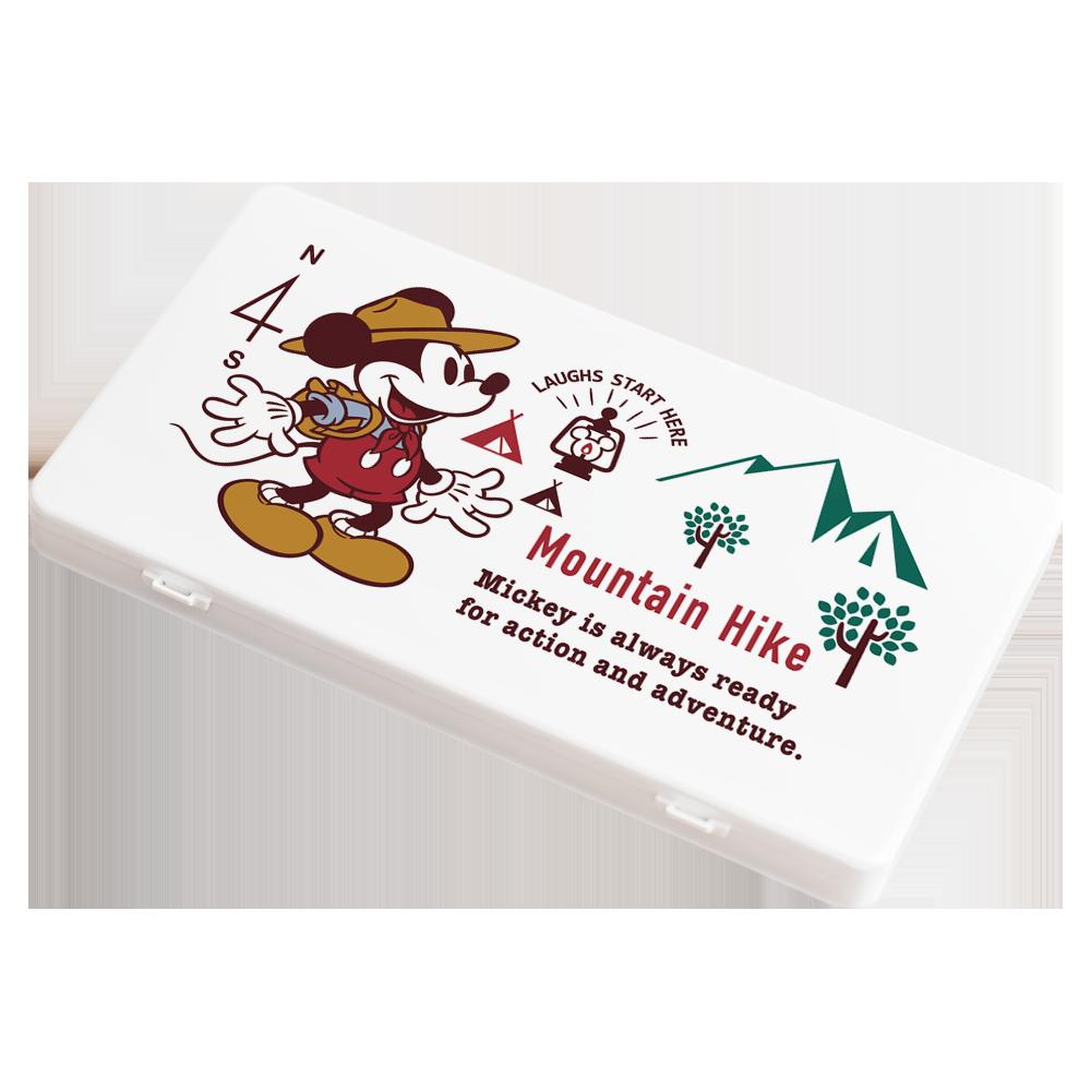 【收納王妃】迪士尼 (登山米奇)-米奇米妮系列防疫必備口罩盒/零錢盒/收納盒/文具盒