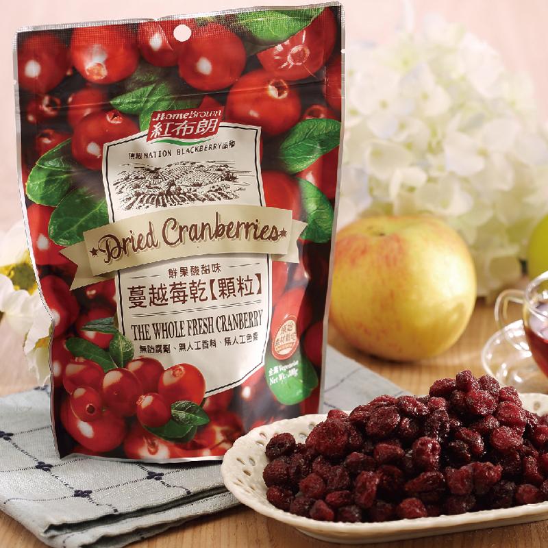 【紅布朗】蔓越莓乾顆粒 200gX3袋