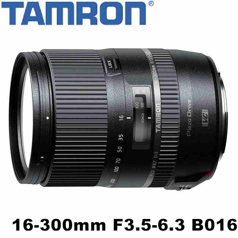 TAMRON 16-300mm F/3.5-6.3 DiII VC PZD MACRO B016 Canon 接環 平行輸入 一年保固