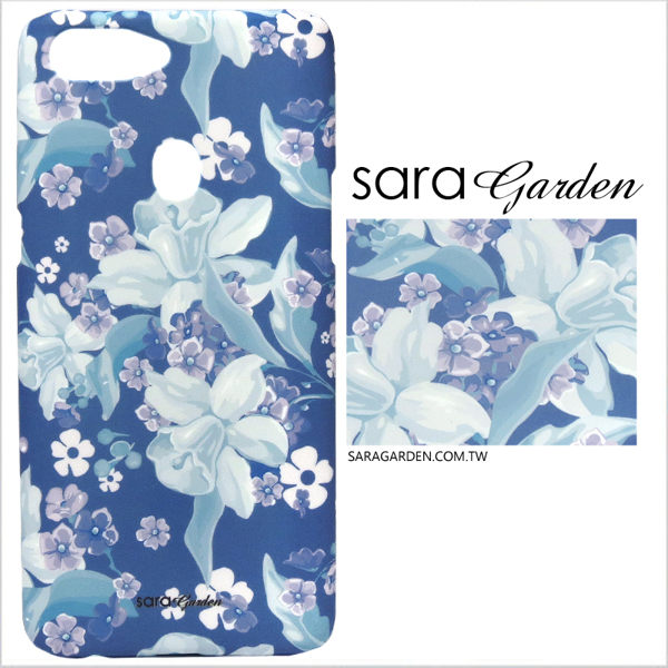 【Sara Garden】客製化 手機殼 HTC 820 紫羅蘭碎花 手工 保護殼 硬殼