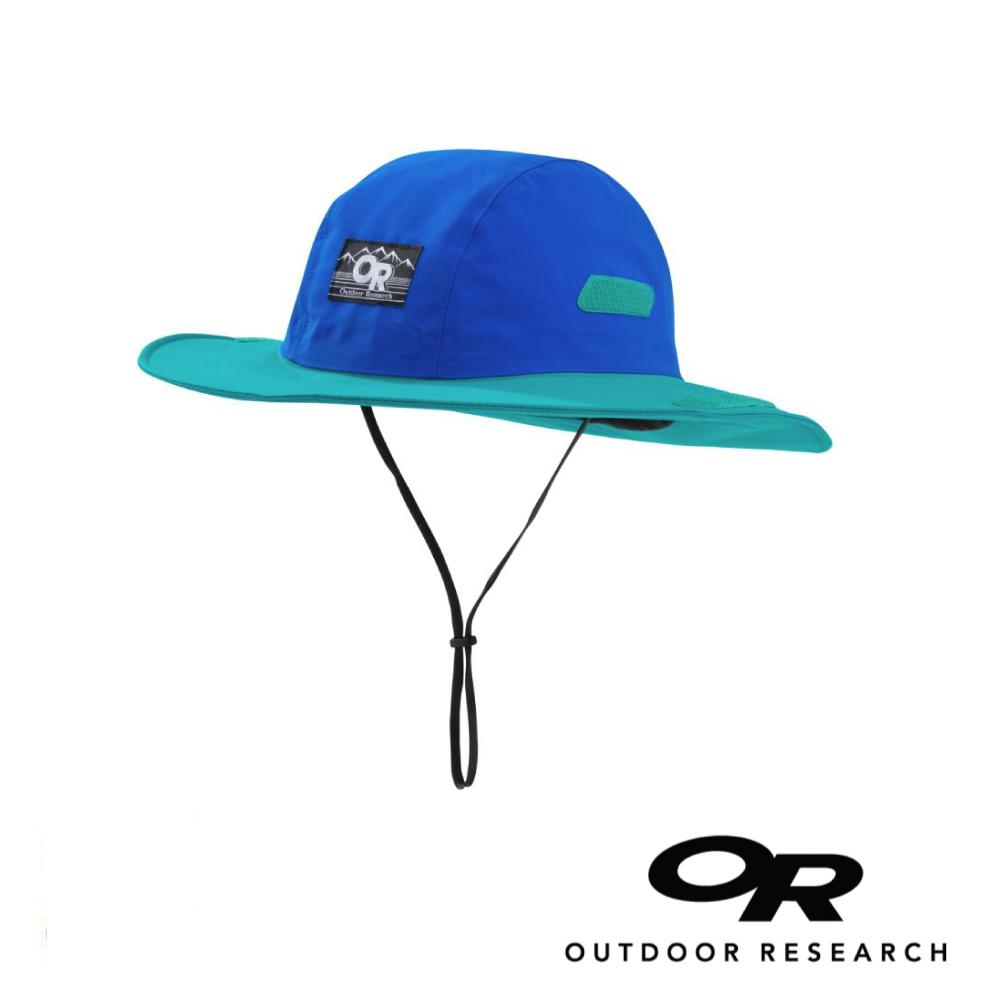 【美國Outdoor Research】靛藍M-復古款防水透氣防曬可折疊遮陽帽