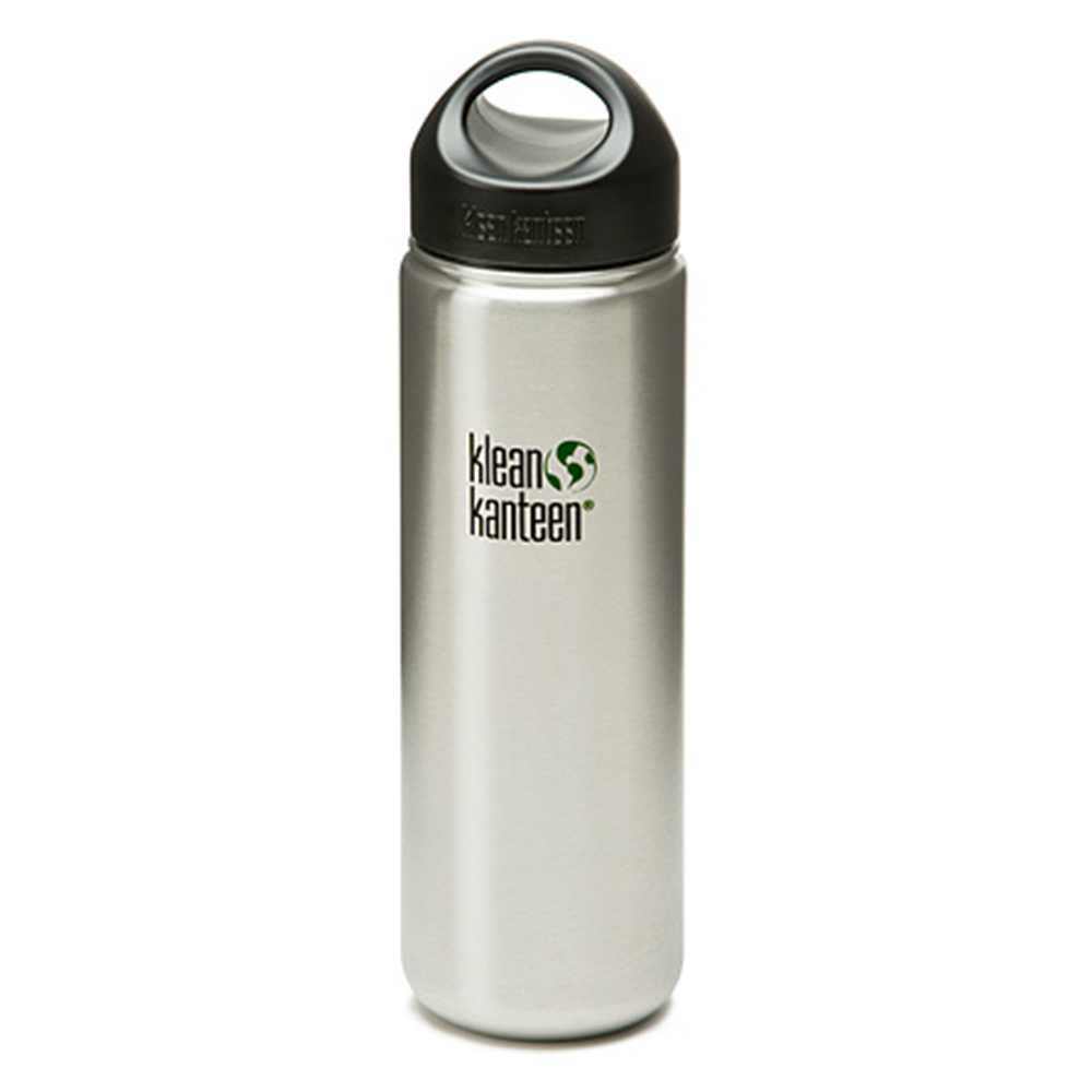 【美國Klean Kanteen】寬口不鏽鋼瓶-800ml-原色鋼