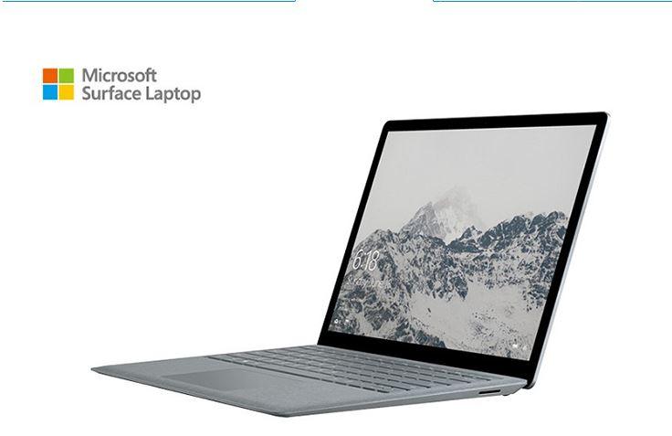 Surface Laptop i5 4G 128G 13.5吋 白金色(內建Windows 10s)