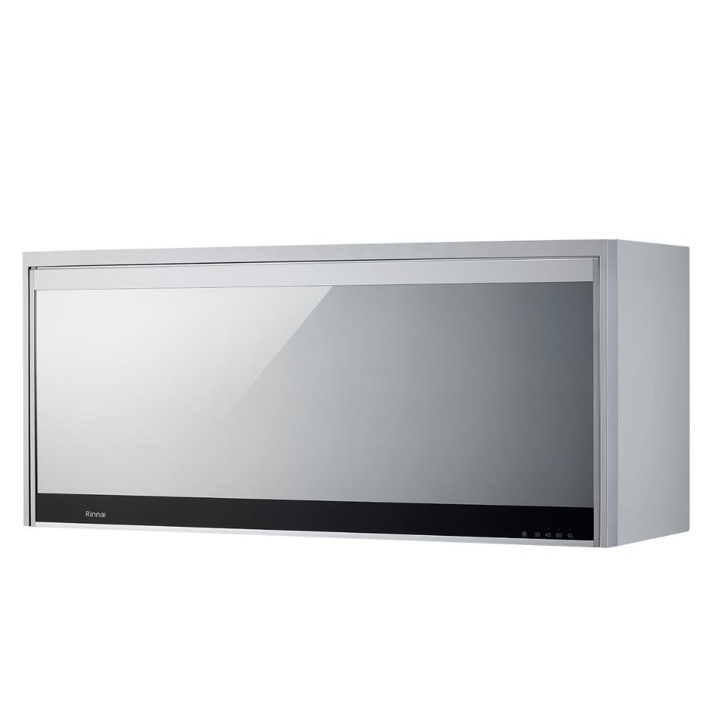 (全省安裝)林內懸掛式臭氧銀色90公分烘碗機RKD-196S(Y)