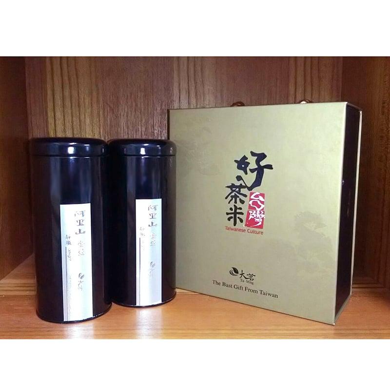 大茗–好茶米茶葉禮盒(阿里山金萱茶)