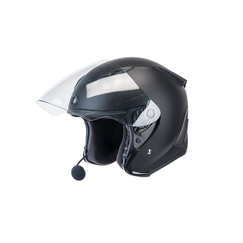 JARVISH Flash F1 3/4 智慧安全帽 黑 M