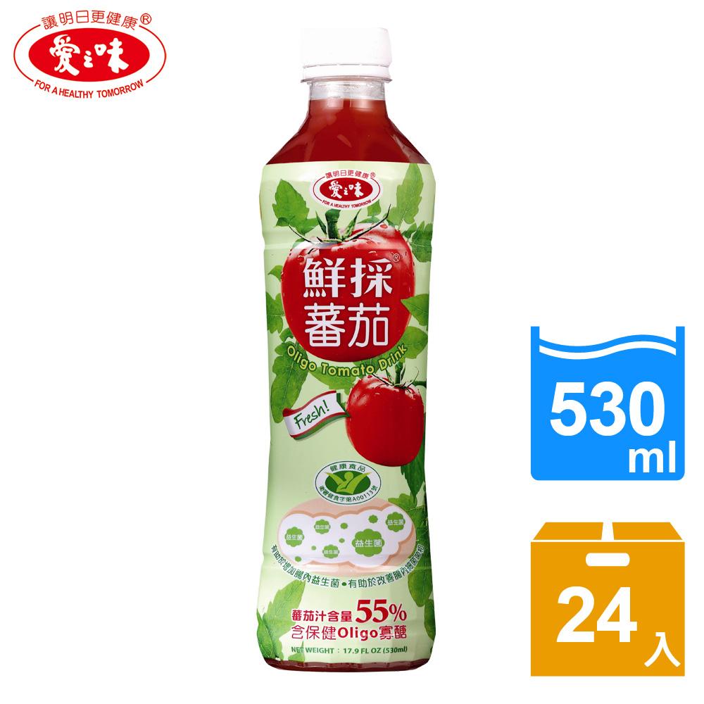 【愛之味】鮮採蕃茄汁Oligo腸道保健530ml(24入/箱)