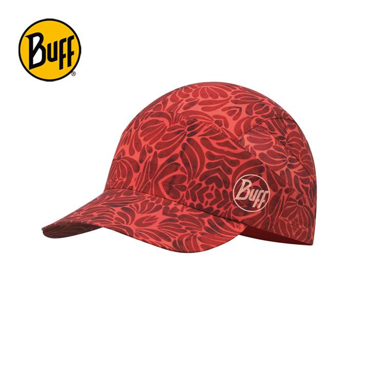 【西班牙 BUFF】紅石榴花 可捲收健行帽