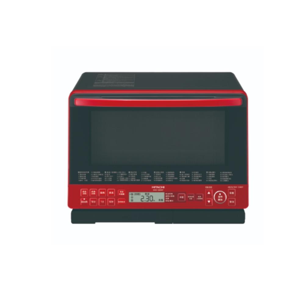 HITACHI日立 31公升過熱蒸烘烤微波爐 MRO-S800XT(R) 紅色