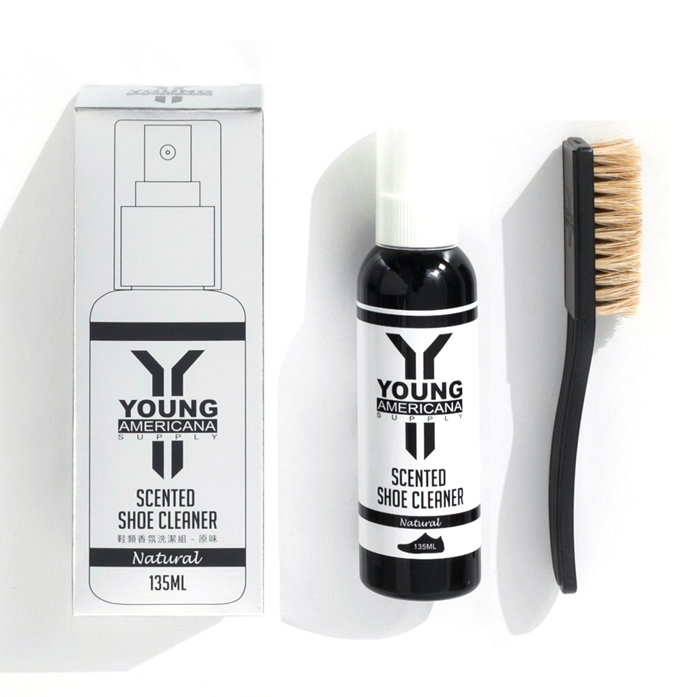 【友情組】Y.A.S 美鞋神器 鞋類香氛清潔組135mlX4 -原味(YC01002)