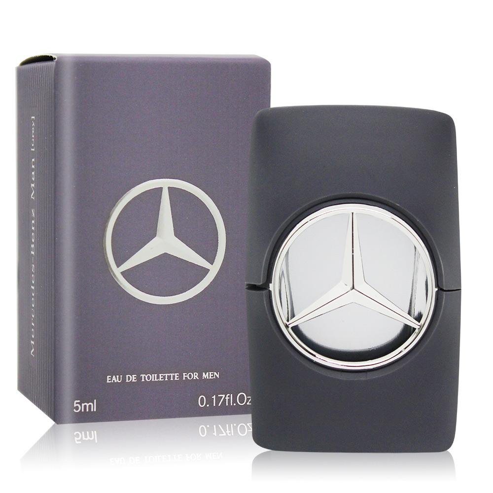Mercedes Benz 賓士 輝煌之星男性淡香水 Grey(5ml) EDT-國際航空版