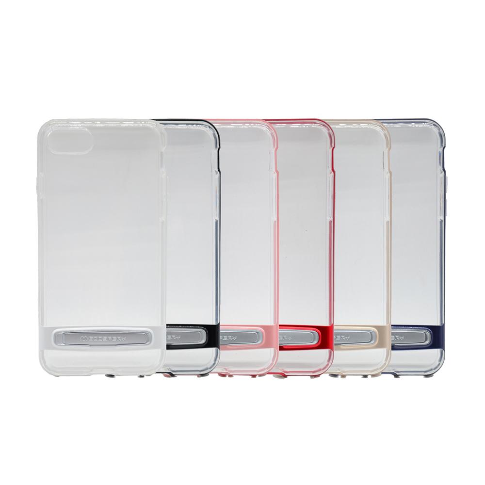 GOOSPERY Apple iPhone 8/7 Dream Bumper 透明支架殼(玫瑰金)