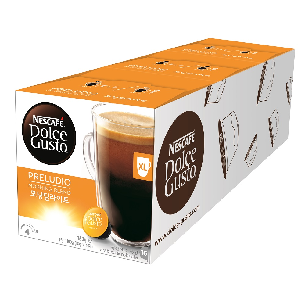 【雀巢 Nestle】雀巢咖啡 Dolce Gusto 美式晨光咖啡膠囊(特大杯) 16顆入x3