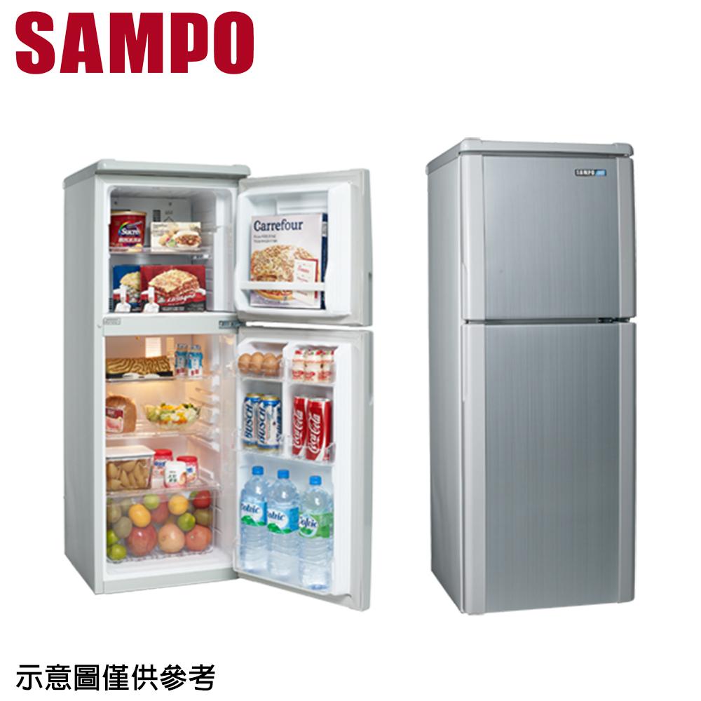 【SAMPO聲寶】140公升雙門冰箱SR-A14Q (S6)