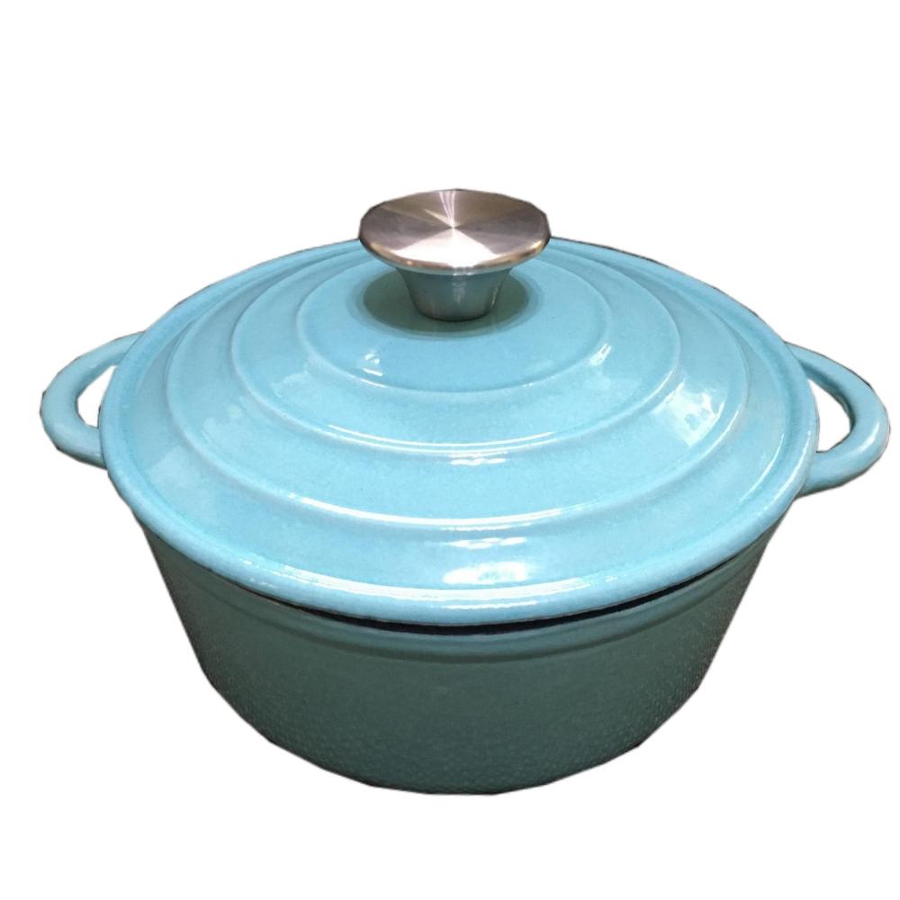 鍋寶20公分時尚琺瑯鑄鐵鍋CP20CM贈品