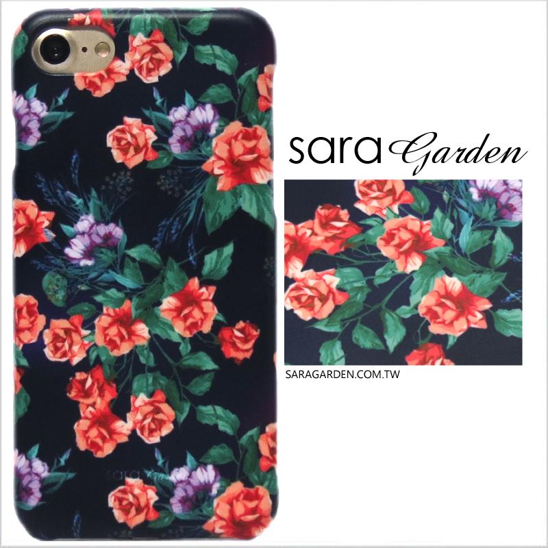 【Sara Garden】客製化 手機殼 ASUS 華碩 Zenfone3 Deluxe 5.7吋 ZS570KL 質感玫瑰花 手工 保護殼 硬殼