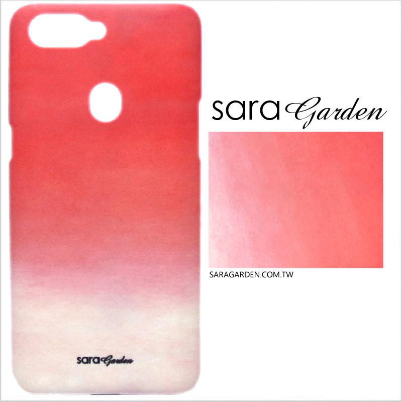 【Sara Garden】客製化 手機殼 蘋果 iPhone7 iphone8 i7 i8 4.7吋 水彩漸層嫩粉 手工 保護殼 硬殼