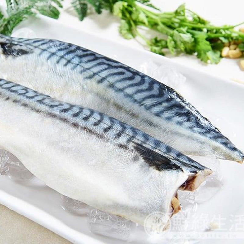 【鮮綠生活】北大西洋超厚薄鹽鯖魚 (共8片)
