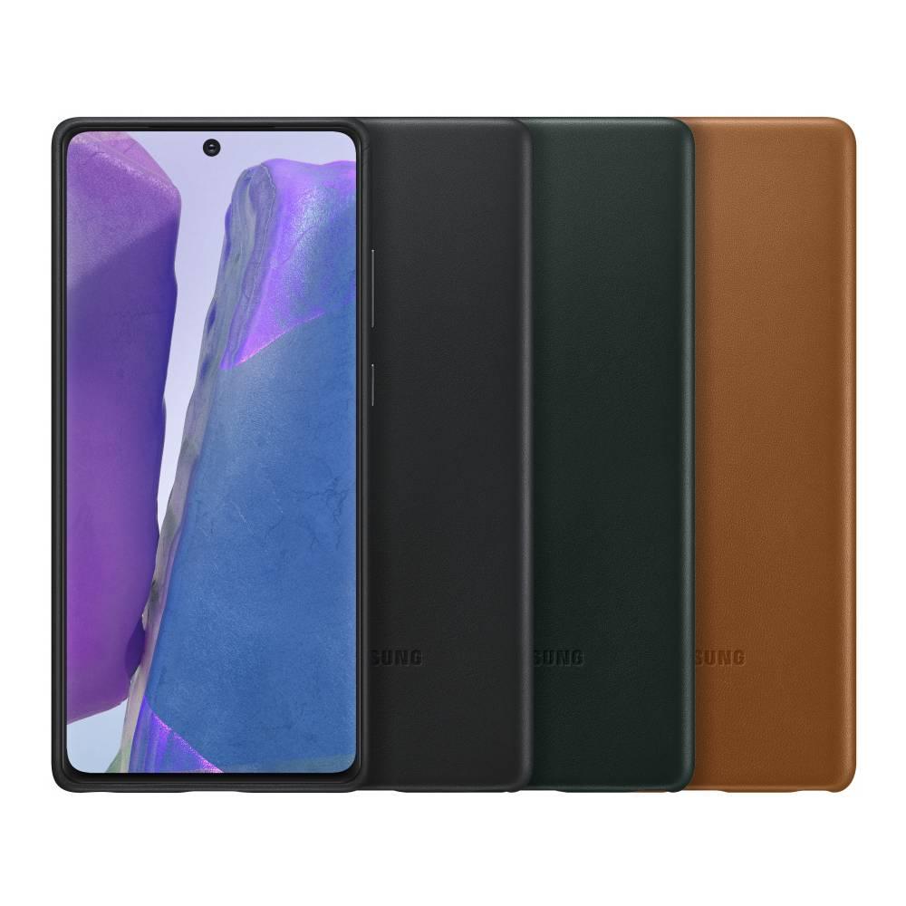 SAMSUNG Galaxy Note20 皮革背蓋