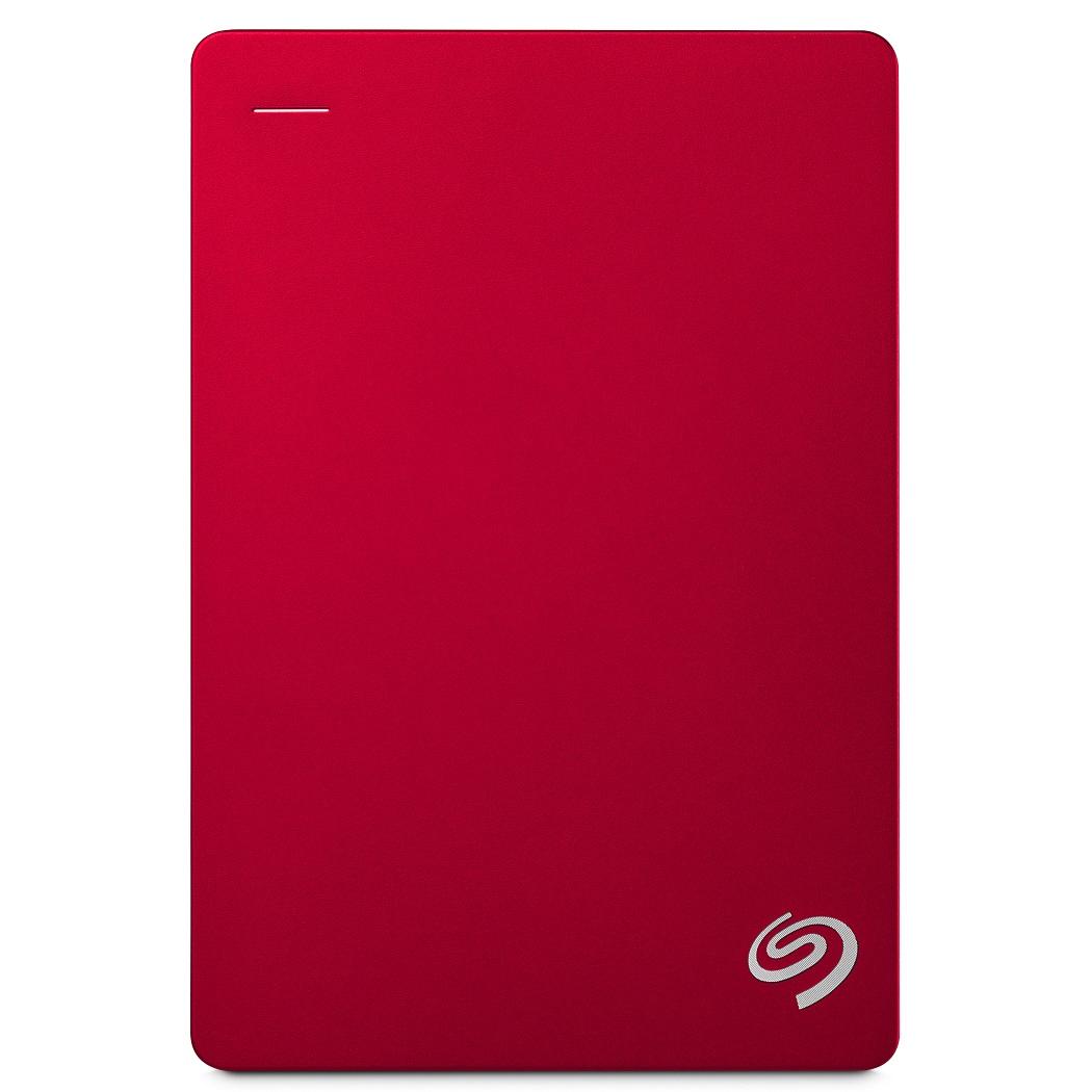 Seagate Portable Backup Plus 5TB 2.5吋可攜式行動硬碟-(紅)