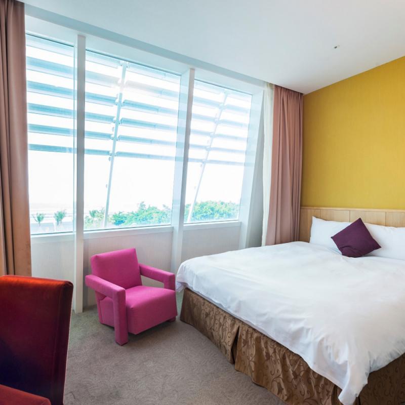 南台灣最美沙灘酒店  旗津道沙灘酒店水光客房