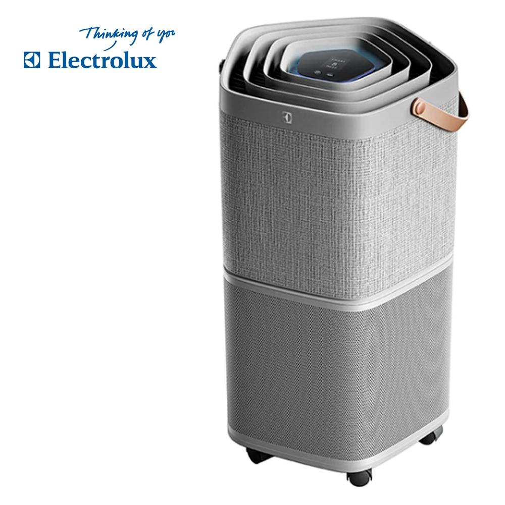 【Electrolux 伊萊克斯】高效抗菌智能旗艦清淨機Pure A9(PA91-406GY優雅灰-9-14坪)