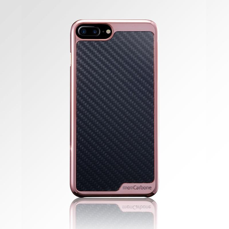 KHROME iPhone 7 / iPhone 8 碳纖維保護殼 玫瑰金/碳纖黑