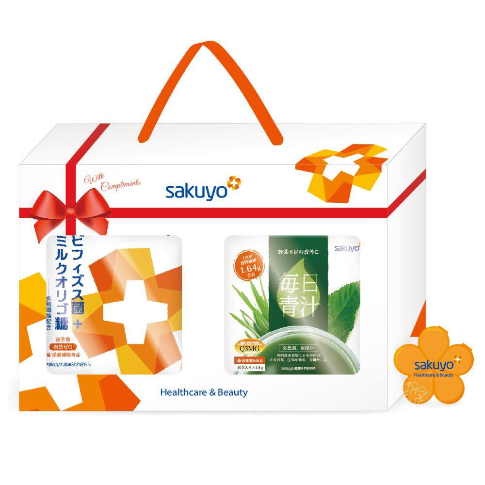 sakuyo禮盒C (益生菌+青汁)