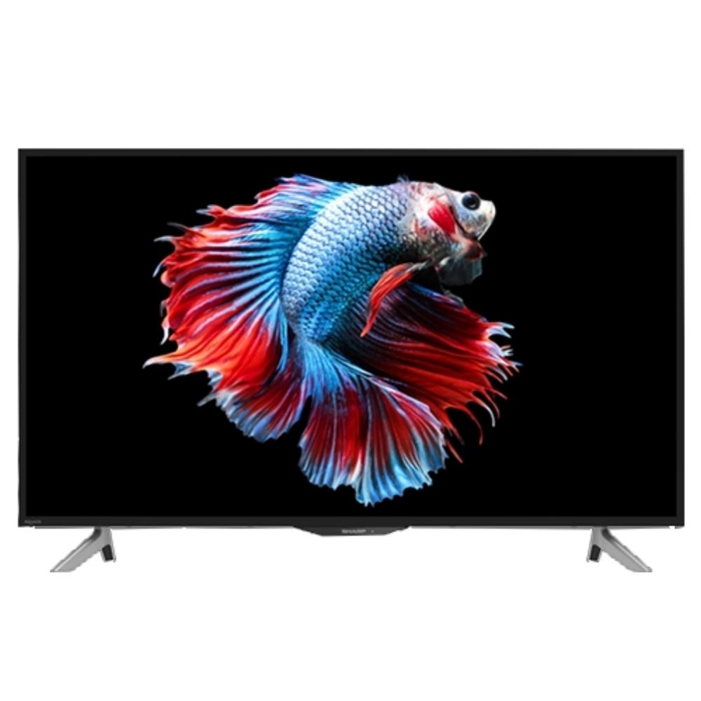 【SHARP夏普】45吋 4K HDR智慧連網液晶顯示器+視訊盒 4T-C45AH1T