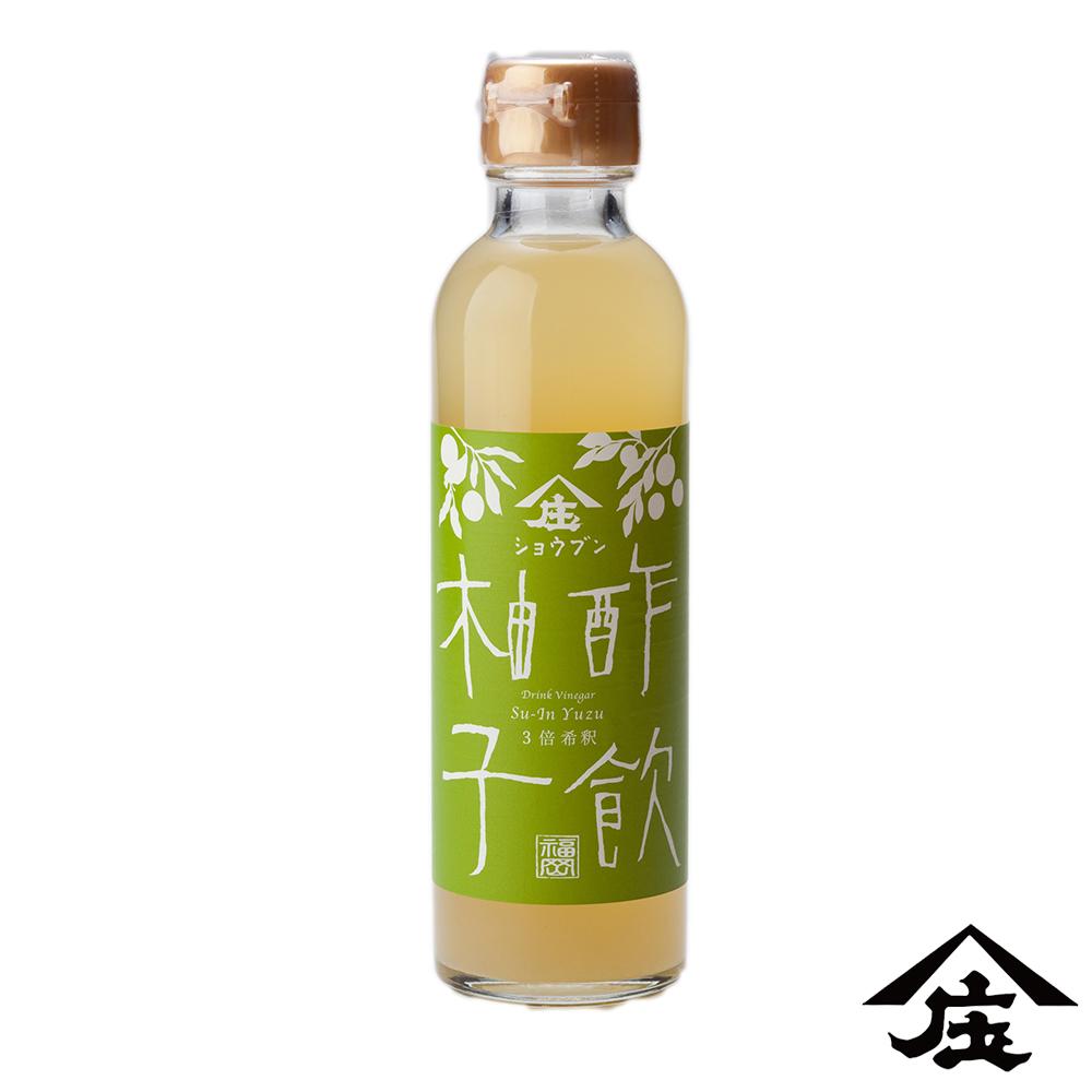【庄分酢】柚子原汁蜂蜜酢(200ml/瓶)