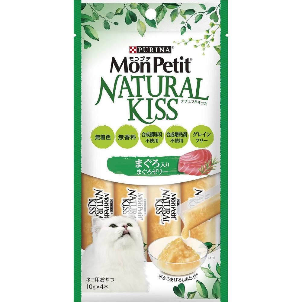 MonPetit貓倍麗天然小鮮肉泥 10g*4條 18入 鮮鲔雙拼