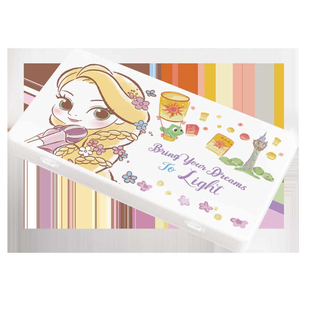 【收納王妃】迪士尼 (樂佩)-Q版公主系列 防疫必備口罩盒/零錢盒/收納盒/文具盒