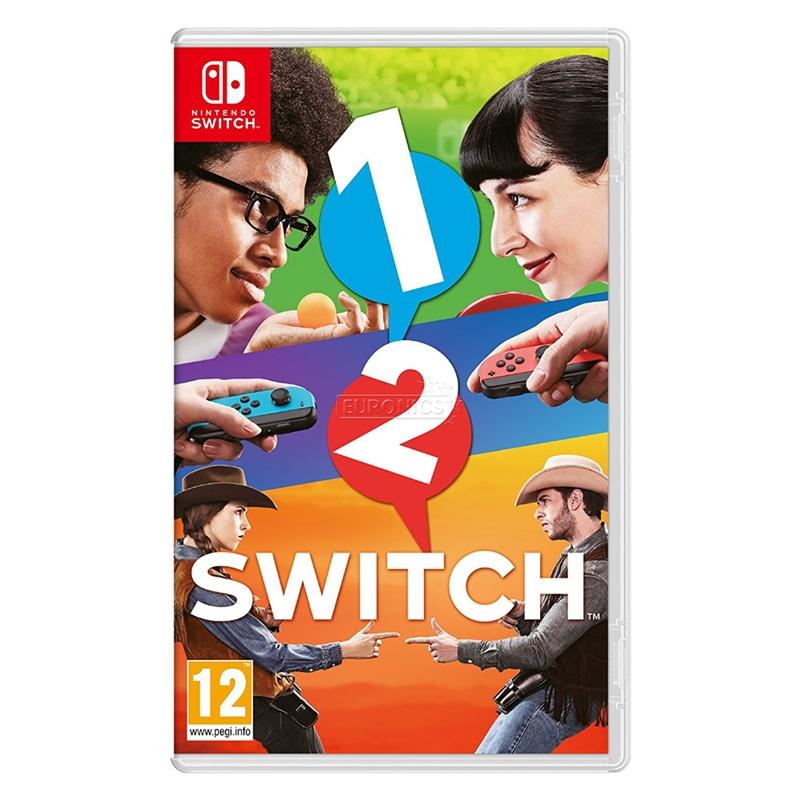 Nintendo Switch 1-2-Switch_亞版日英文合版