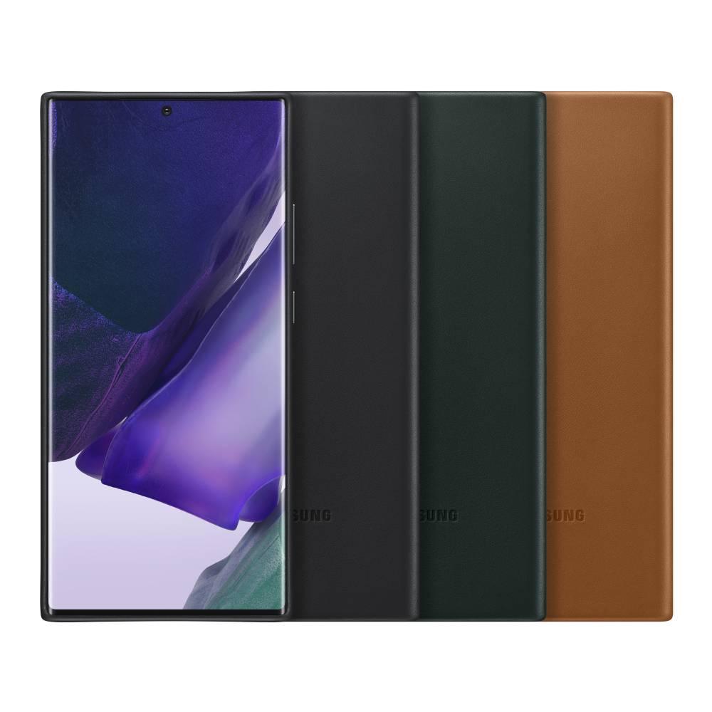 SAMSUNG Galaxy Note20 Ultra 皮革背蓋